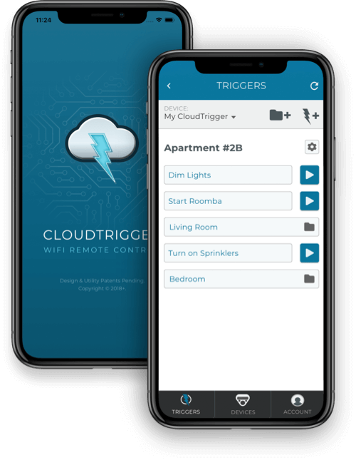 CloudTrigger Mobile App for iOS and Android